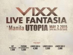 VIXX Live Fantasia Manila Utopia