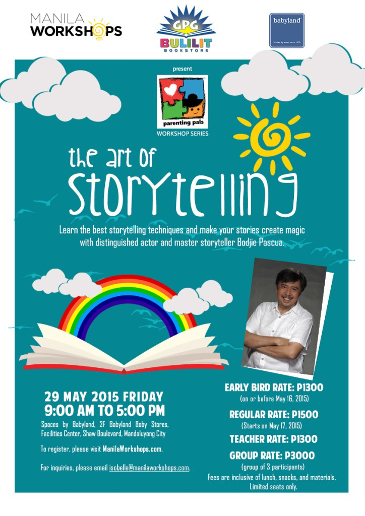 The Art of Storytelling 2015 Workshop | Philippine Primer