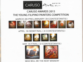 Caruso Awards Night 2015: The Young Filipino Painters Competition