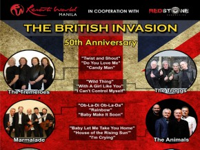 The British Invasion: 50th Anniversary Live in Manila