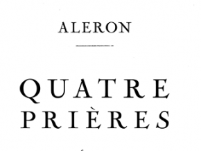 QUATRE PRIÈRES: A Humble Night of Music