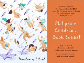 For the Kids and Kids at Heart! Umuulan ng Libro: Philippine Children's Book Summit