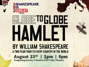 Globe to Globe Hamlet Stops by PH on August 23