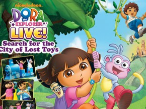 Dora The Explorer Comes to Manila