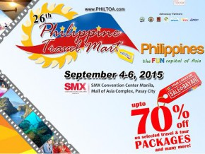 Avail of Discounted Tours at the Philippine Travel Mart from Sep 4-6