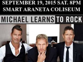 Michael Learns to Rock Back in Manila on Sep. 19