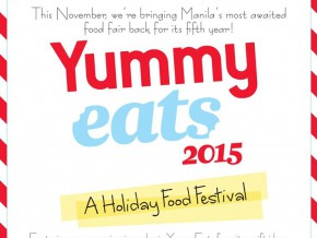 Yummy Eats 2015 – A Pinoy Holiday Food Festival!