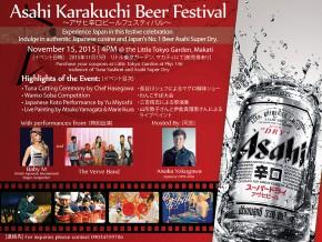 Asahi Karakuchi Beer Festival