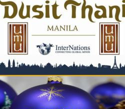 Early Christmas Party for Expats at UMU Dusit Thani