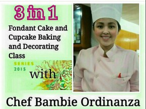Chef Bambie Ordinanza Fondant Workshop