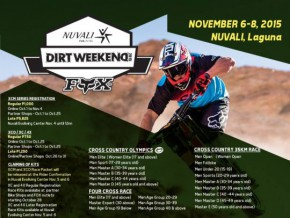 Fox Nuvali Dirt Weekend