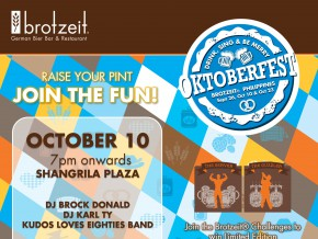 Brotzeit Oktoberfest: Drink, Sing & Be Merry