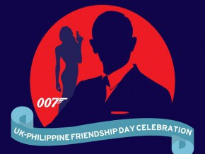 Celebrate UK-Philippine Friendship Day, Bond style