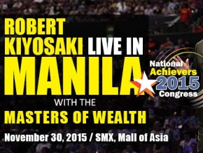 Robert Kiyosaki Live in Manila