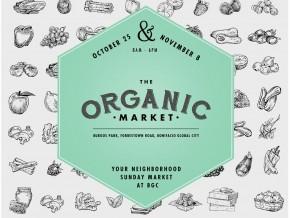 The Organic Market Starts on October 25