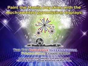 The 7th Philippine International Pyromusical Competition