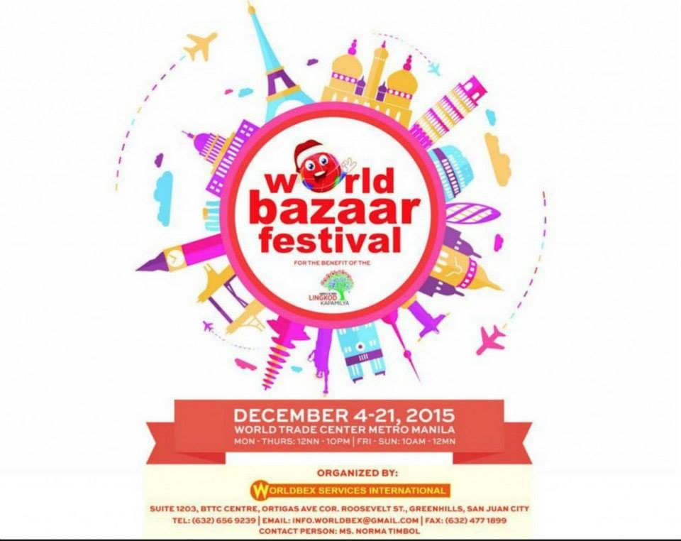 World bazaar festival 2015 philippine primer world bazaar festival 2015 gumiabroncs Image collections