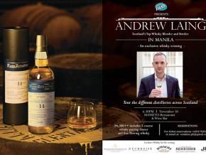 Andrew Laing's Whisky Pairing Dinner