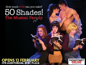 50 Shades of Grey Musical Parody in Manila