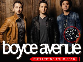 Boyce Avenue Philippine Tour 2016