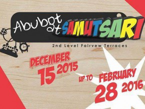 Abubot at Samutsari Pop Up Store