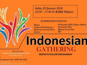 Indonesian Gathering: A Taste of Indonesia