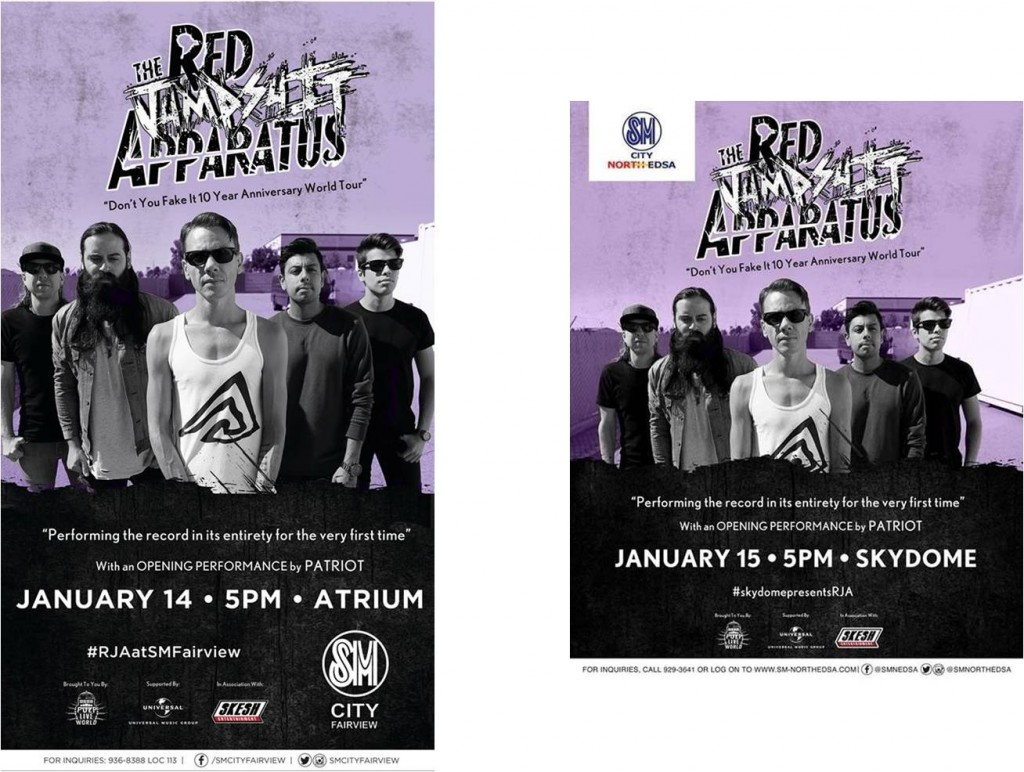 Red jumpsuit apparatus live philippine primer