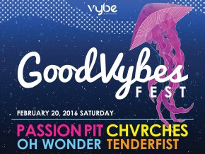 Fresh Indie Electro Rock and Pop at the GoodVybes Festival