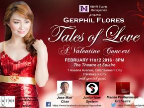 Gerphil Flores Live in Manila