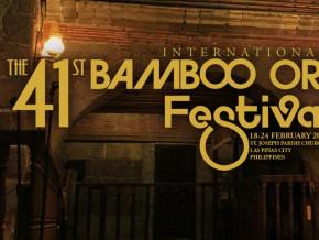 41st International Bamboo Organ Festival