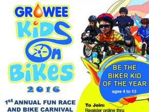 Growee Kids on Bikes 2016