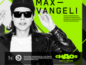 Max Vangeli Live at the Chaos
