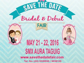 Save the Date: Bridal and Debut Fair