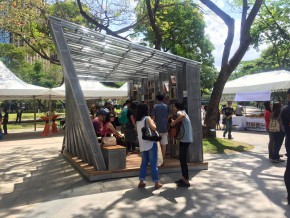 The Book Stop Project at Ayala Triangle