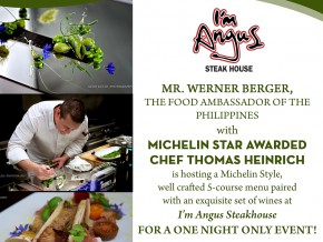 I'm Angus Steak House hosts Michelin-style dinner event