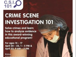 Crime Scene Investigation 101
