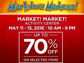 Enjoy as much as 70% Discount at Markdown Madness