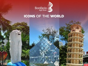Icons of the World at Bonifacio High Street