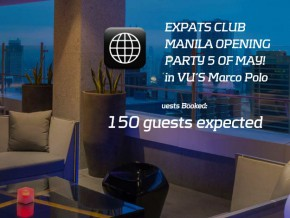 Expats Club Manila Opening Party