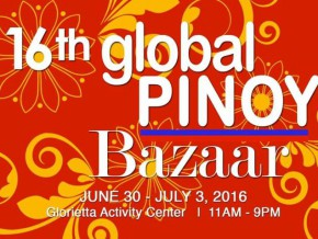 16th Global Pinoy Bazaar