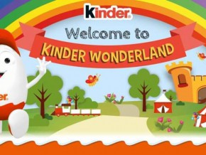 Kinder welcomes you to Kinder Wonderland
