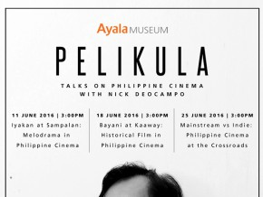 PELIKULA: Talks on Philippine Cinema with Nick Deocampo