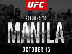 UFC returns to Manila this October