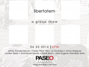 Love local (artists, that is) with Paseo Art Gallery's Libertatem