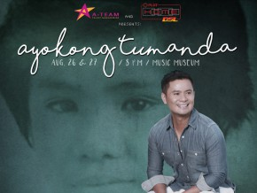 Ogie Alcasid leads the way in Ayokong Tumanda