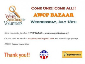 High quality goods, themed art, and more at AWCP Bazaar