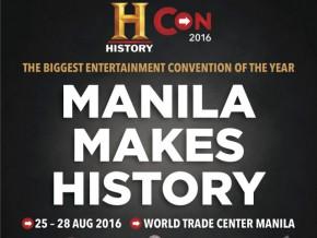 Manila makes History at History Con 2016!