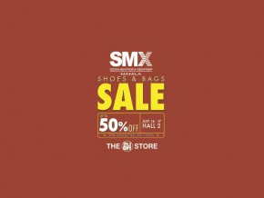 Shoes and Bags Sale at SMX Convention from July 14-17