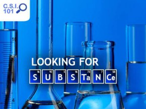 Solve a chemical mystery at CSI101: Looking for Substance