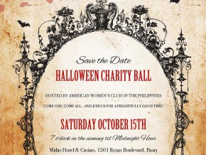 Have a frightfully good time at AWCP's Halloween Charity Ball!